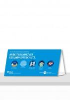 Arbeitsschutz ist Gesundheitsschutz - Besprechungen und Meetings (Aufsteller)