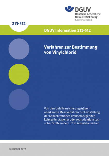 Verfahren zur Bestimmung von Vinylchlorid (VC)