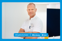"""Motiv #ImpfenSchützt, """"Dr. Heiko Martens"""" (DGUV und BG Kliniken)"""