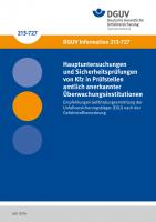 Hauptuntersuchungen und Sicherheitsprüfungen von Kfz in Prüfstellen amtlich anerkannter Überwachungsinstitutionen