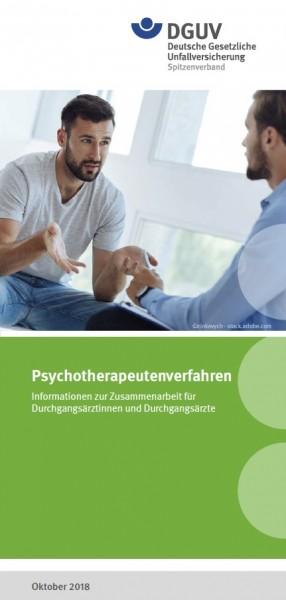 Psychotherapeutenverfahren - Informationen zur Zusammenarbeit für Durchgangsärztinnen und Durchgangs