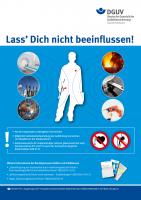 Lass' Dich nicht beeinflussen! (Plakat, DIN A2)