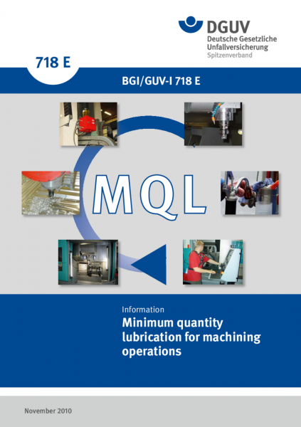 Minimum quantity lubrication for machining operations