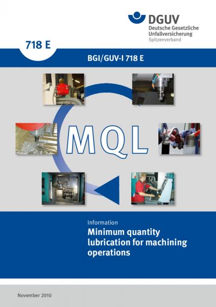 Minimum quantity lubrication for machining operations