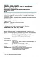 Verfahren zur Bestimmung von 3,3'-Dimethyl-4,4'-diaminodiphenylmethan