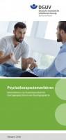 Psychotherapeutenverfahren - Informationen zur Zusammenarbeit für Durchgangsärztinnen und Durchgangsärzte