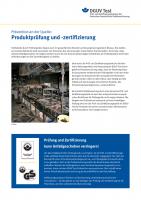 Prävention an der Quelle: Produktprüfung und -zertifizierung
