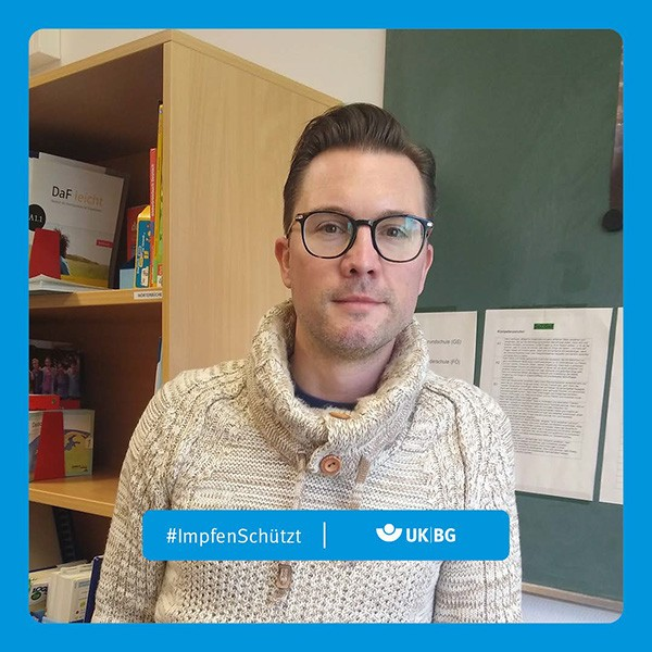 "Motiv #ImpfenSchützt, ""Sebastian Poweleit"" (UK|BG)"