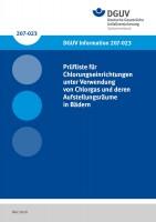Prüfliste für Chlorungseinrichtungen unter Verwendung von Chlorgas und deren Aufstellungsräume in Bädern