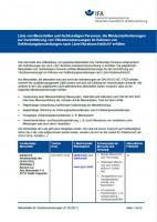 Liste von Messstellen und fachkundigen Personen, die Mindestanforderungen zur Durchführung von Vibrationsmessungen im Rahmen von Gefährdungsbeurteilungen nach LärmVibrationsArbSchV erfüllen