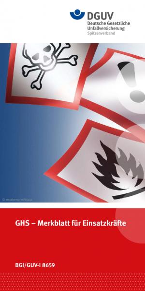 GHS - Merkblatt für Einsatzkräfte
