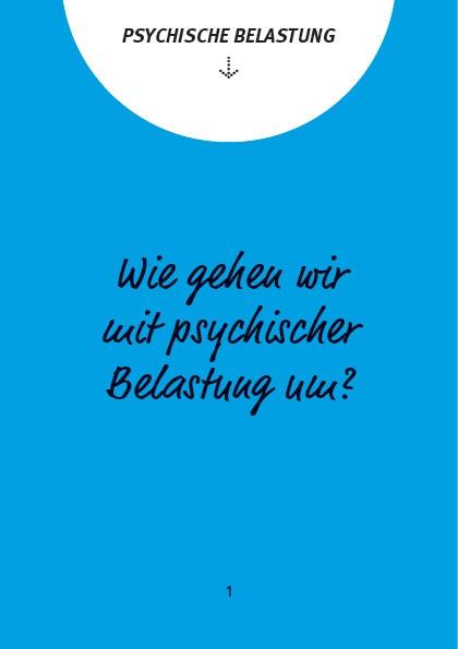 kommmitmensch - Dialogkarten zum Thema Psychische Belastung