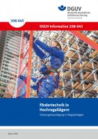 Fördertechnik in Hochregallägern - Störungsbeseitigung in Regalanlagen