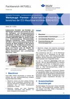 """FBHM-068 """"Werkzeuge / Formen - Außerhalb des Anwendungsbereiches der EG-Maschinenrichtlinie 2006/42/EG"""""""