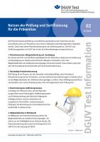 Nutzen der Prüfung und Zertifizierung für die Prävention