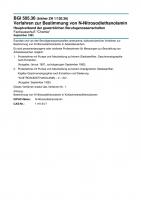 Verfahren zur Bestimmung von N-Nitrosodiethanolamin