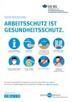 Arbeitsschutz ist Gesundheitsschutz - Außentermine (Plakat, DIN A3)