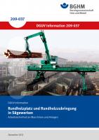 Rundholzplatz und Rundholzzubringung in Sägewerken - Arbeitssicherheit an Maschinen und Anlagen