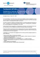 """FBBE-006 """"Empfehlung zur Nutzung von """"Halbautomaten"""" als Sicherungsgeräte beim Sportklettern in der Schule"""""""