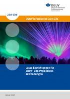 Laser-Einrichtungen für Show- oder Projektionsanwendungen