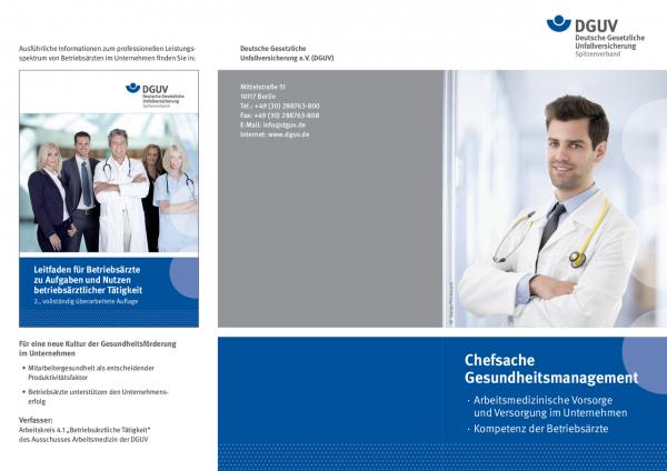 Chefsache Gesundheitsmanagement
