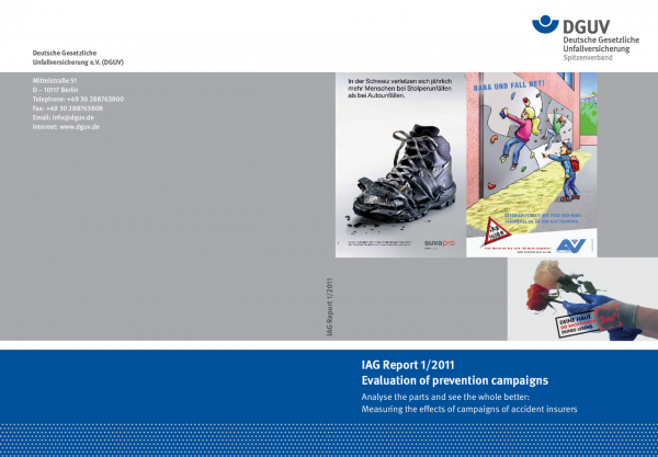 IAG Report 1/2011 - Evaluation of prevention campaigns
