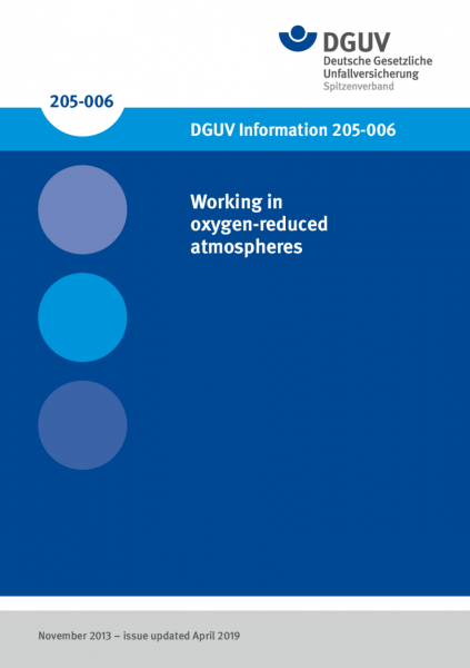 Working in oxygen-reduced atmospheres