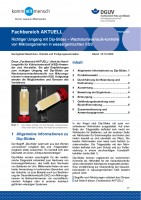 """FBHM-056 """"Richtiger Umgang mit Dip-Slides – Wachstumsverlaufskontrolle von Mikroorganismen in wassergemischten KSS"""""""