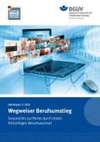 IAG Report 2/2015 Wegweiser Berufsumstieg