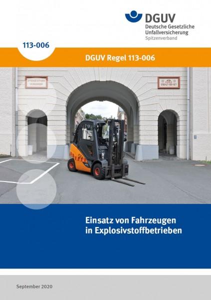 Einsatz von Fahrzeugen in Explosivstoffbetrieben