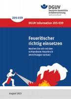 Faltkarte: Feuerlöscher richtig einsetzen