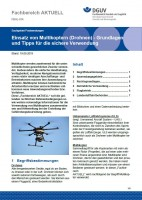 """FBHL-014 """"Einsatz von Multikoptern (Drohnen) - Grundlagen und Tipps für die sichere Verwendung"""""""