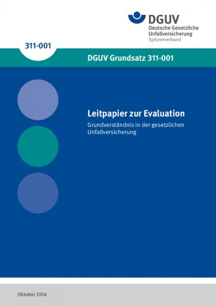 Leitpapier zur Evaluation: Grundverständnis in der gesetzlichen Unfallversicherung
