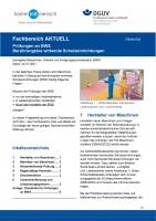 "FBHM-085 ""Prüfungen an BWS Berührungslos Wirkende Schutzeinrichtungen"""