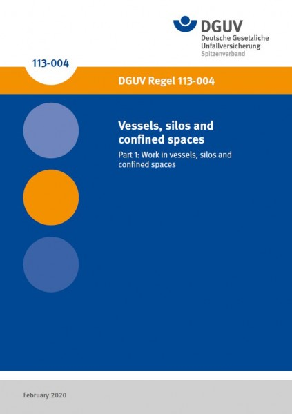 Vessels, silos and confined spaces, Part 1: Work in vessels, silos and confined spaces
