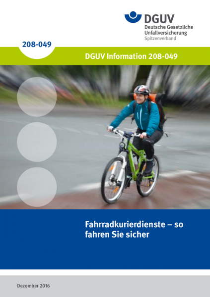 Fahrradkurierdienste – so fahren Sie sicher