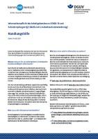Informationspflicht der Arbeitgebenden zu COVID-19 und  Schutzimpfungen (§5 SARS-CoV-2-Arbeitsschutzverordnung) - Handlungshilfe