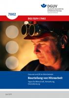 Beurteilung von Hitzearbeit - Tipps für Wirtschaft, Verwaltung, Dienstleistung
