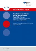 Empfehlungen Gefährdungsermittlung der Unfallversicherungsträger (EGU) nach der Gefahrstoffverordnung - Quecksilberexpositionen bei der Demontage von Flachbildschirmen