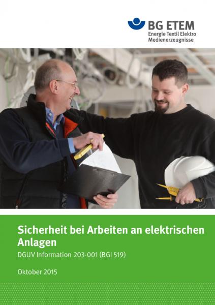 Sicherheit bei Arbeiten an elektrischen Anlagen