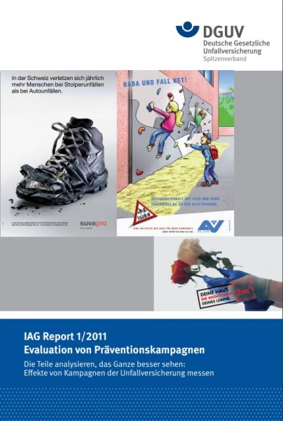 IAG Report 1/2011 Evaluation von Präventionskampagnen