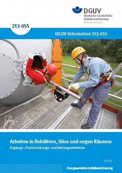 """Retten aus Behältern, Silos und engen Räumen (Merkblatt T 010 der Reihe """"Sichere Technik"""")"""