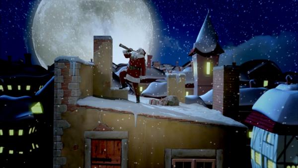 Hilfe für den Weihnachtsmann