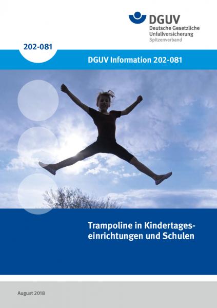 Trampoline in Kindertageseinrichtungen und Schulen