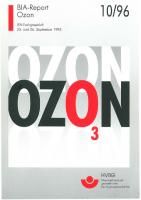 Ozon, BIA-Report 10/96