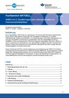 """FBVW-502 """"SARS-CoV-2: Empfehlungen zum Lüftungsverhalten an Innenraumarbeitsplätzen"""""""