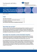 """FBPSA-002 """"Neue PSA-Verordnung – Auswirkungen auf die Unterweisung zu Gehörschutz"""""""