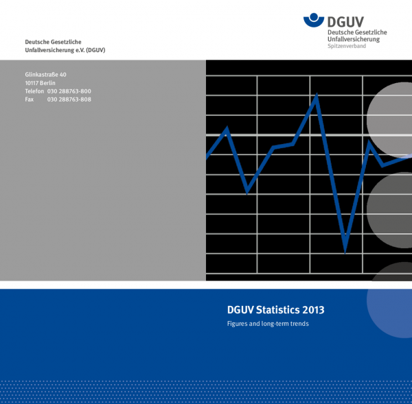 DGUV Statistics 2013 - Figures and long-term trends