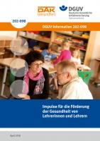 Impulse für die Förderung der Gesundheit von Lehrerinnen und Lehrern