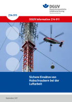 Sichere Einsätze von Hubschraubern bei der Luftarbeit